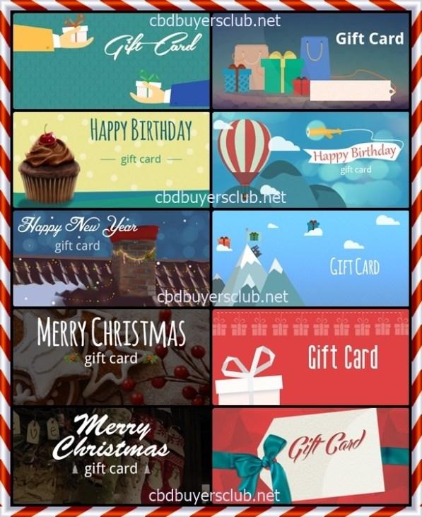 cbd Christmas gift