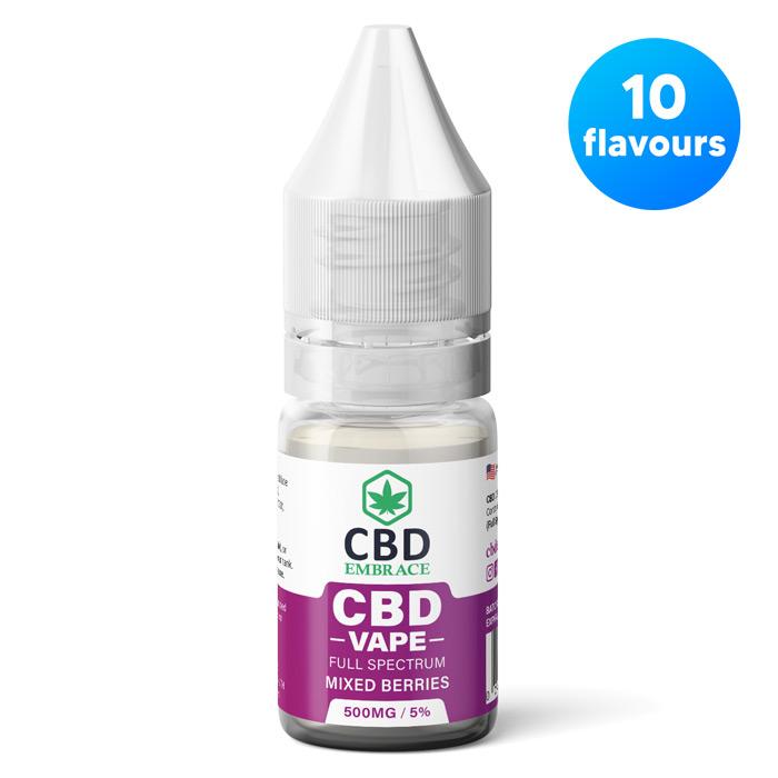 cbd vape juice uk - 10 flavours cbd eliquid