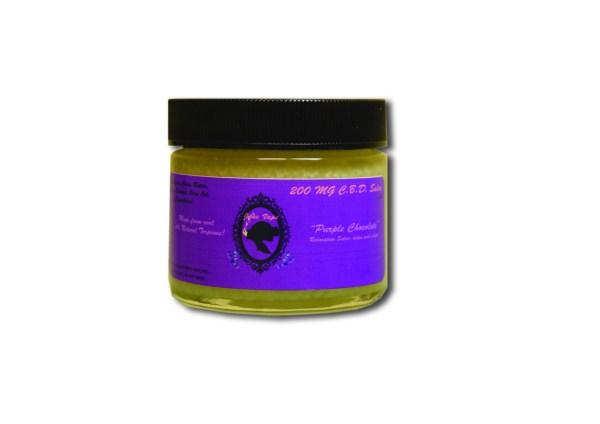 Janevape 200mg CBD Salve Purple Chocolate