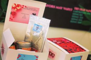 valentines cbd gift box