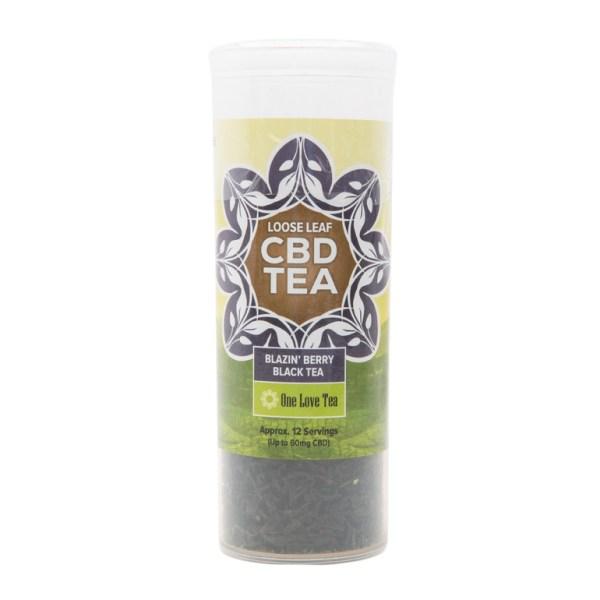 cbd tea blazin berry black tea