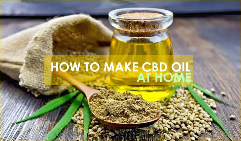 cbd oil at home