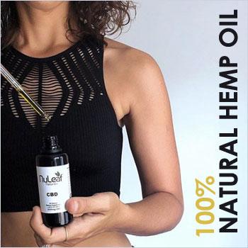 100% natural CBD Oil