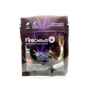 Fire Chews - Grape (100 MG THC)