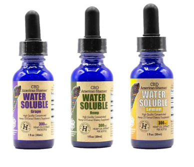 American Shaman Water Soluble Hemp Oil
