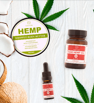 Endoca Pure hemp products
