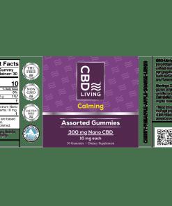CBD Living Vegan CBD gummies