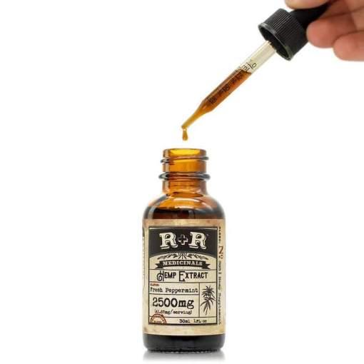 R+R 2500mg CBD Oil