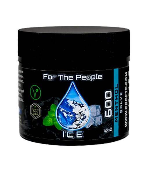 Menthol ICE CBD Salve