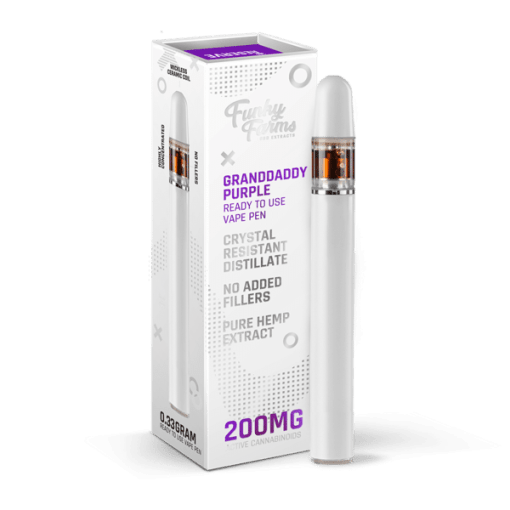 Granddaddy Purple Disposable Vape CBD PEN