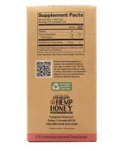 CBD Honey GInger Sticks