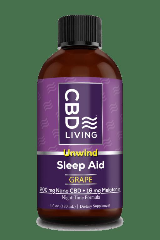 Melatonin Sleep Aid 16 Mg + 200 MG CBD