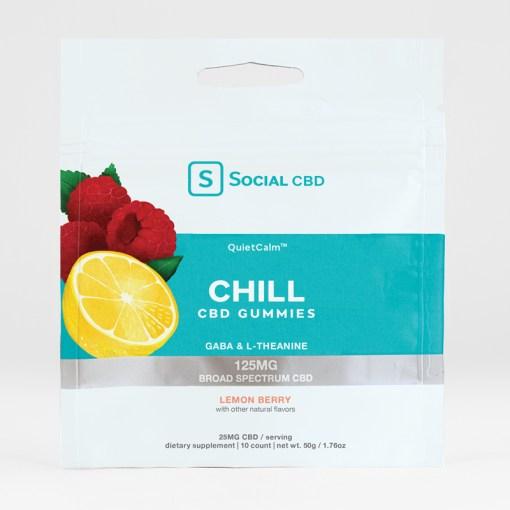 SOCIAL CHILL CBD GUMMIES