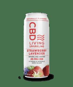 CBD Living Sparkling Water 25 mg