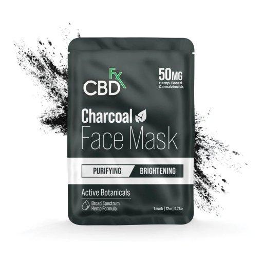 charcoal cbd face mask