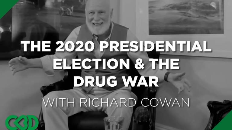 Why is no one talking about the drug war (marijuana) in the 2020 presidential election?