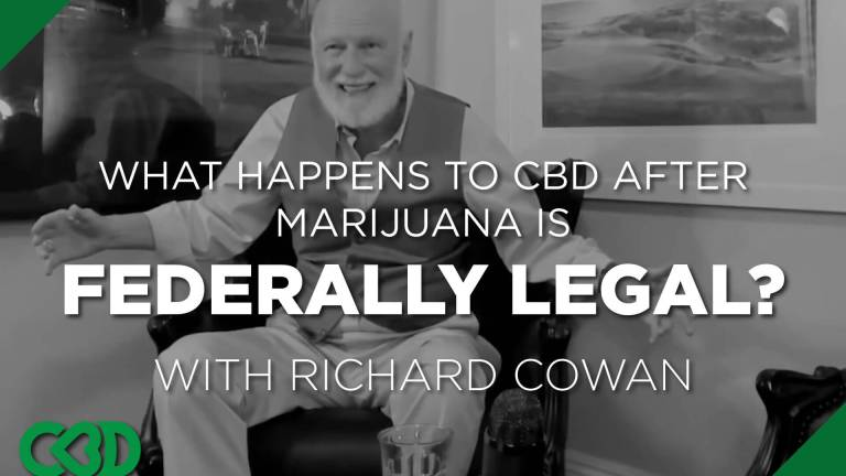 What happens to cbd after marijuana is federally legal?