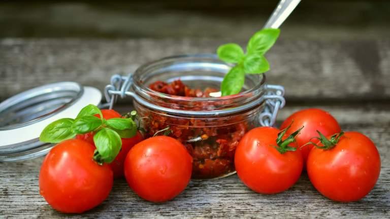 Sun-dried Tomato Hemp Pesto