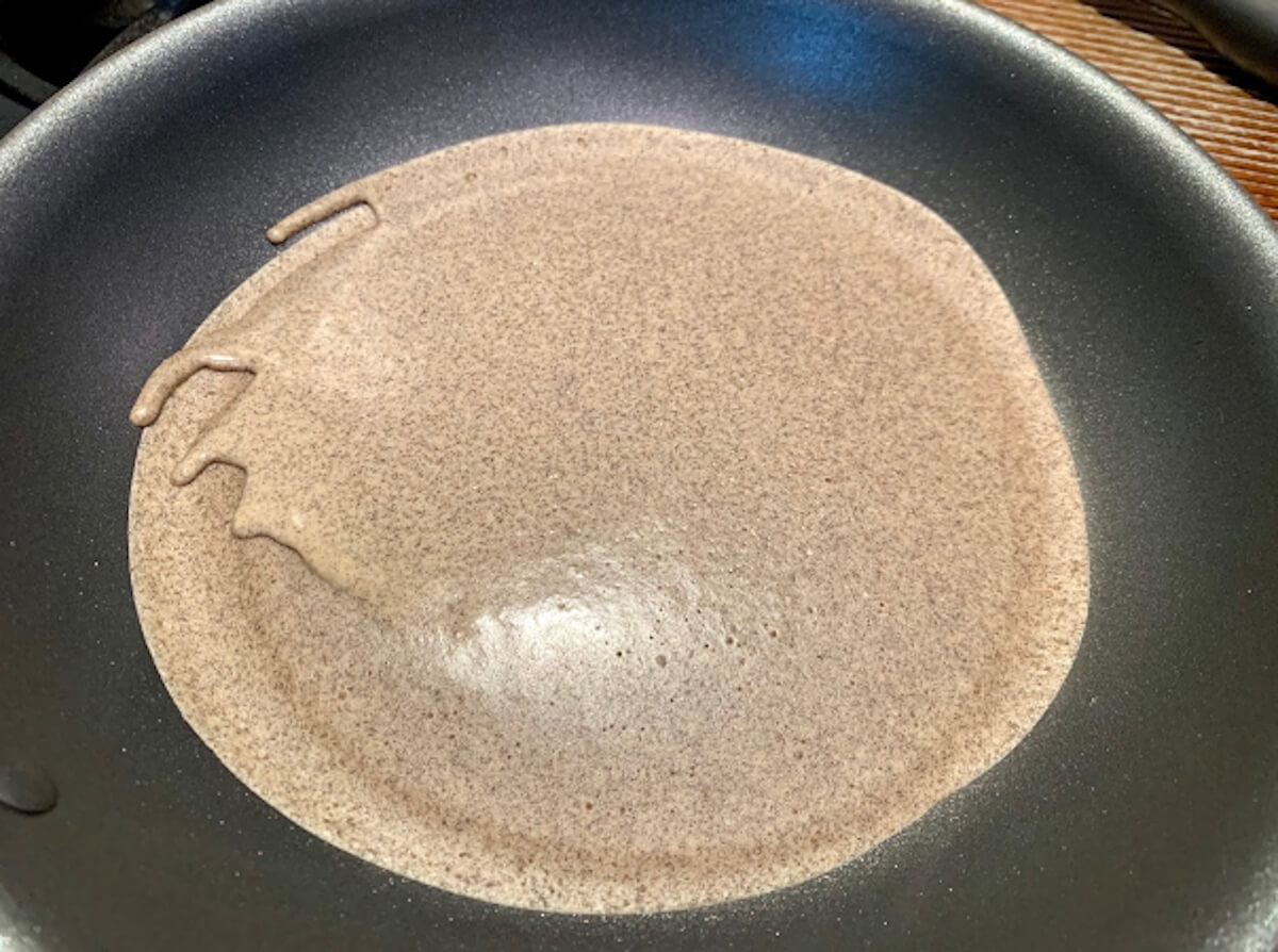 Dr. Igor's Buckwheat Crepes with a Creamy Apricot Hemp Filling Recipe