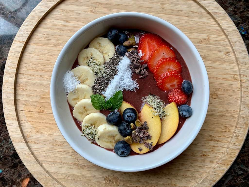 Dr. Igor's Fruit & Nut Protein Açai Bowl Recipe