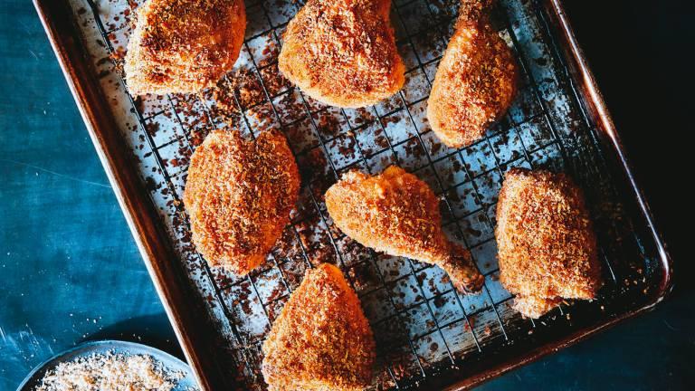 Dr. Igor's Hemp Heart Panko Crusted Oven Fried Chicken Recipe
