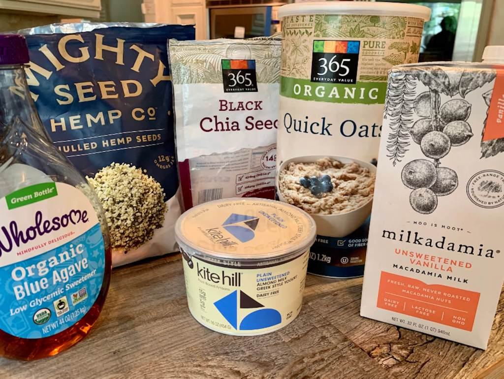 Dr. Igor's Chia, Hemp Heart & Oatmeal Pudding Cups Recipe