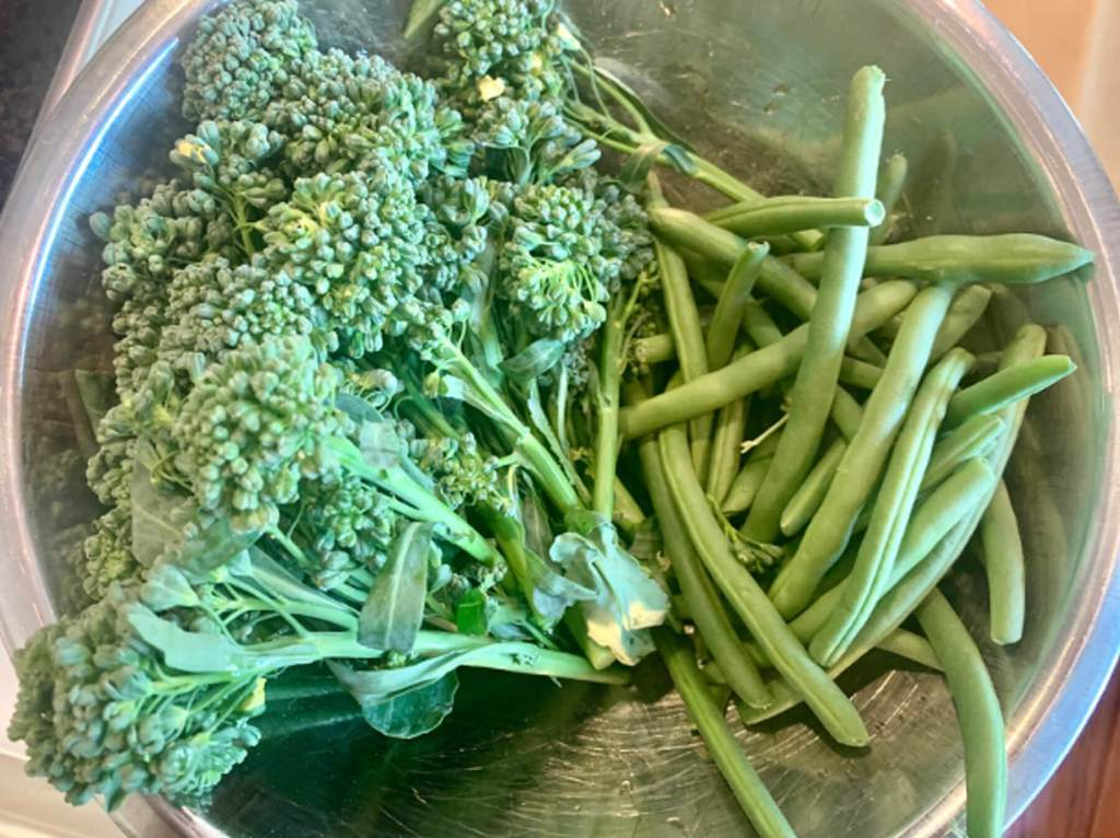 Dr. Igor's Blistered Green Veggies with Salsa Verde Aioli & Hemp Recipe