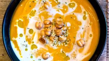 Dr. Igor's Vegan Winter Squash and Hemp Heart Soup Recipe