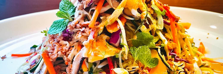 Dr. Igor's Spaghetti Squash Rainbow Salad Recipe