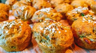 Dr. Igor's Hemp Flour Pumpkin Zucchini Mini Muffins Recipe