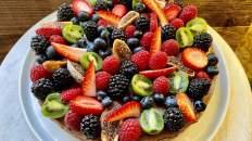 Dr. Igor's Raw Maca Horchata Torte with Hemp Protein