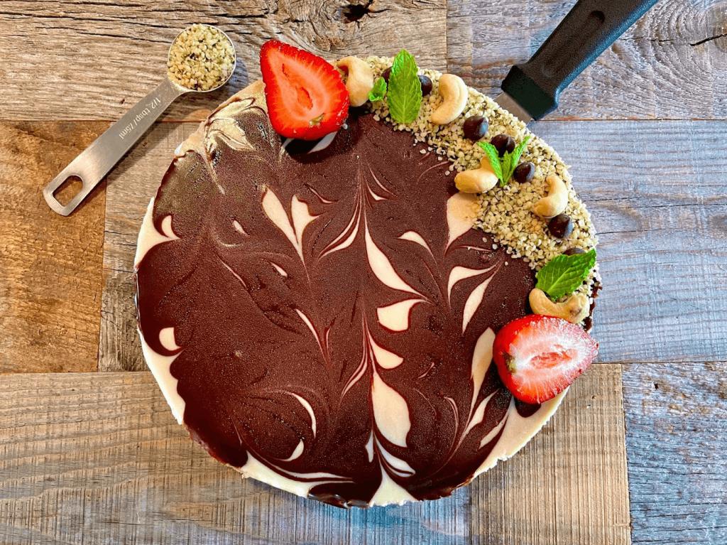 Dr. Igor's Cashew & Hemp Chocolate Cheesecake Recipe