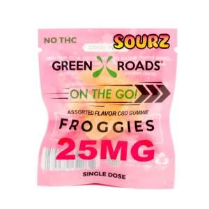 CBD Froggie Sourz 25mg
