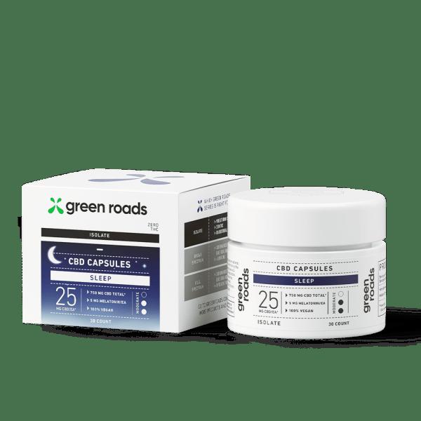 Green Roads CBD Sleep Capsules (25mg per capsule)