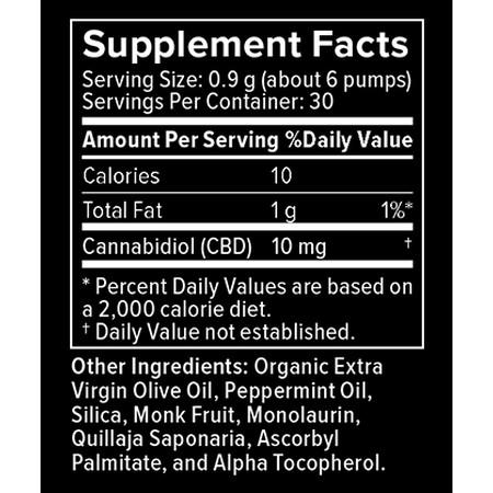 Happy Lane CBD Liquid 300mg Peppermint Magic