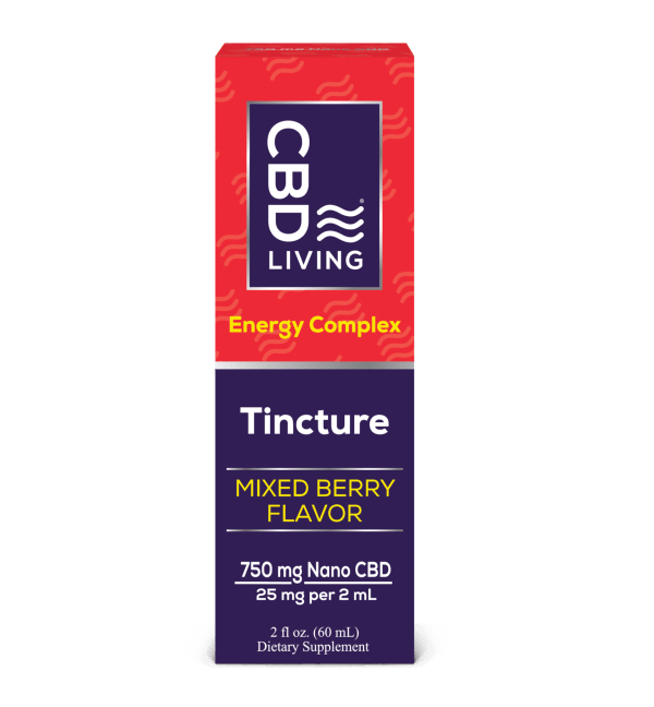 CBD Living 750mg Energy Tincture