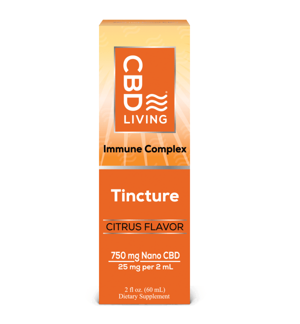 CBD Living 750mg Immunity Tincture