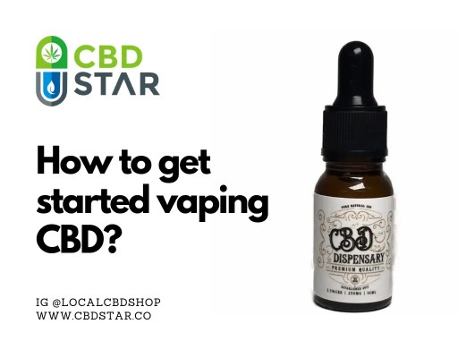 how to get started vaping cbd