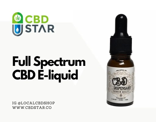full spectrum cbd e-liquid blog post