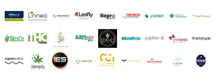 Companies attending the Cannabis Business Europe 2018 event