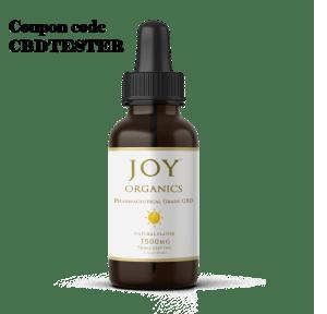 20% off Joy Organics CBD Oil Tinctures