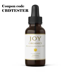 20% off Joy Organics CBD Oil Tinctures