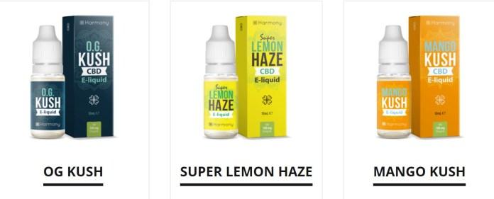 Terpene-infused CBD E-Liquids
