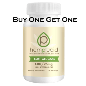 CBD softgels deals: buy one get one