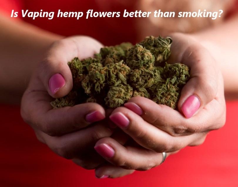Is vaping hemp flowers better than smoking?