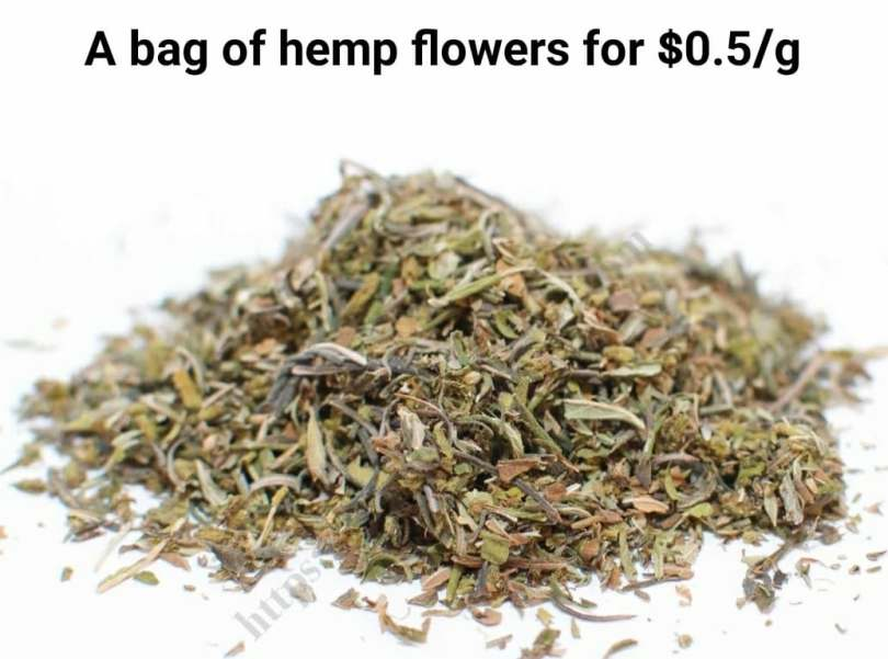 Amazing Deal on Smokable Hemp Shake! $50 for 1/4 Pound - CBD