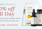 JoyDay 2019: joy organics sale