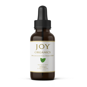 Free Joy Organics 250mg CBD mint tincture