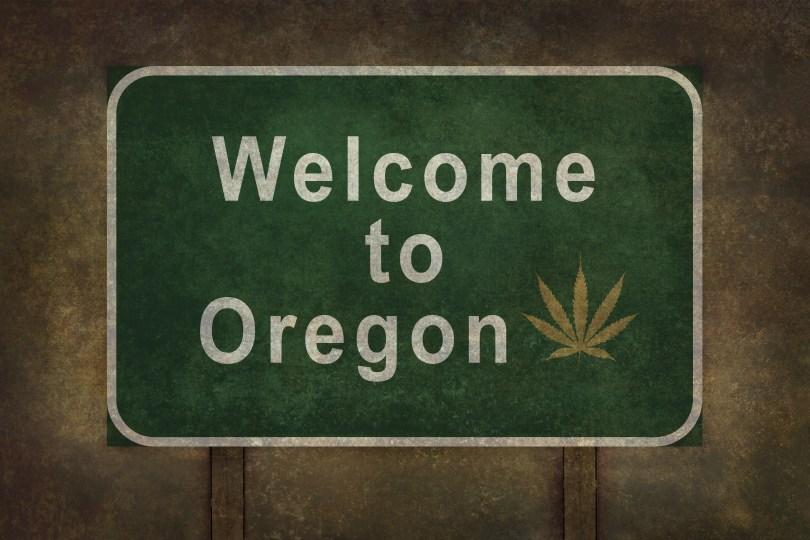 oregon cannabis export