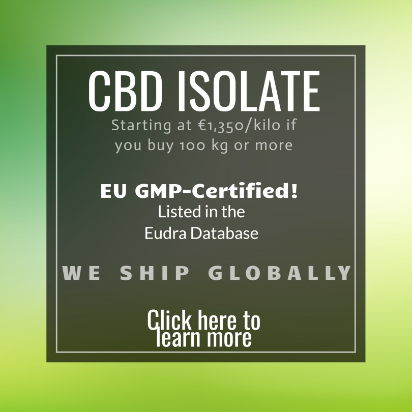 EU GMP CBD Isolate
